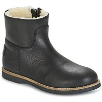 Sapatos Rapariga Botas baixas Shabbies LOW STITCHDOWN LINED Preto