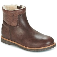 Sapatos Rapariga Botas baixas Shabbies LOW STITCHDOWN LINED Castanho