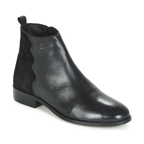 Sapatos Mulher Botas baixas Betty London HELOI Preto