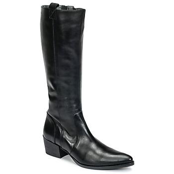 Sapatos Mulher Botas Betty London HABI Preto