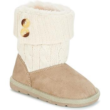 Sapatos Rapariga Botas baixas Chicco CHARME Bege / Castanho
