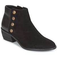 Sapatos Mulher Botins Dune London PANELLA Preto