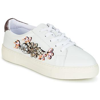 Sapatos Mulher Sapatilhas Dune London EMERALDA Branco