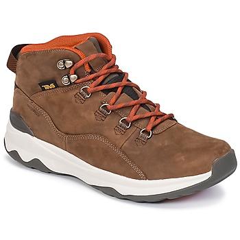 Sapatos Homem Sapatilhas de cano-alto Teva ARROWOOD UTILITY MID Castanho