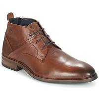 Sapatos Homem Botas baixas Casual Attitude HOKIS Castanho