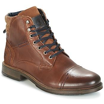 Sapatos Homem Botas baixas Casual Attitude HOKES Castanho