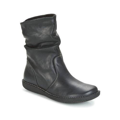 Sapatos Mulher Botas baixas Casual Attitude FILL Preto