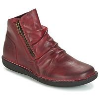 Sapatos Mulher Botas baixas Casual Attitude HERMINA Bordô