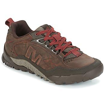 Sapatos Homem Sapatos de caminhada Merrell ANNEX TRAK LOW Castanho