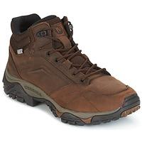 Sapatos Homem Sapatos de caminhada Merrell MOAB VENTURE MID WTPF Castanho