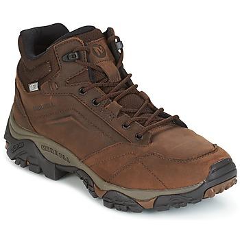 Sapatos Homem Botas baixas Merrell MOAB VENTURE MID WTPF Castanho