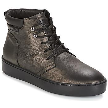 Sapatos Mulher Sapatilhas de cano-alto PLDM by Palladium TRACK DST W Preto / Ouro