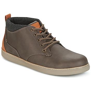 Sapatos Homem Sapatilhas de cano-alto Skechers MENS USA Castanho