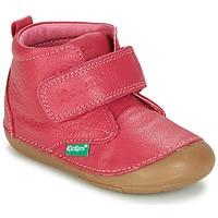 Sapatos Rapariga Botas baixas Kickers SABIO Fúchsia
