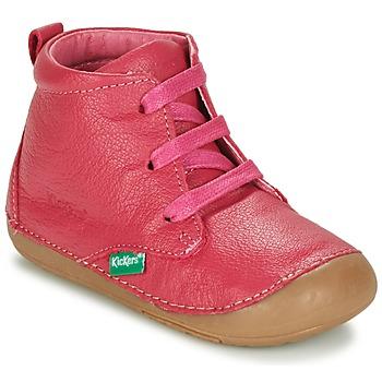 Sapatos Rapariga Botas baixas Kickers SONICE Rosa fúchia