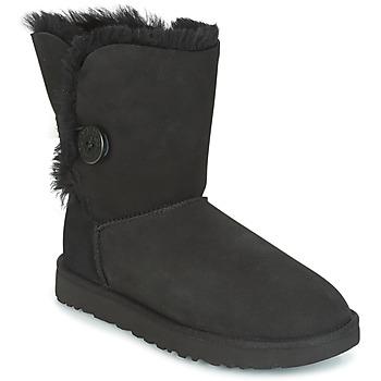 Sapatos Mulher Botas baixas UGG BAILEY BUTTON II Preto