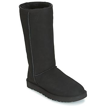 Sapatos Mulher Botas UGG CLASSIC TALL II Preto