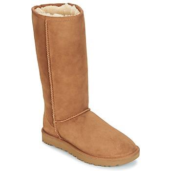 Sapatos Mulher Botas baixas UGG CLASSIC TALL II Castanho