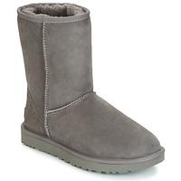 Sapatos Mulher Botas baixas UGG CLASSIC SHORT II Cinza