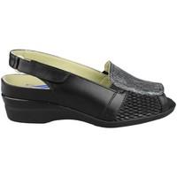 Sapatos Mulher Sandálias Dtorres ROCIO E1 NEGRO