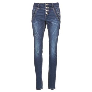 Textil Mulher Calças Jeans Cream NYNNE JEANS BAILEY FIT Azul