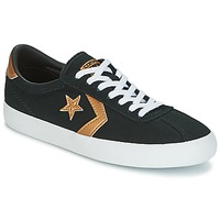 Sapatos Mulher Sapatilhas Converse BREAKPOINT OX Preto / Ouro