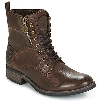 Sapatos Mulher Botas baixas Dockers by Gerli LOUZA Café