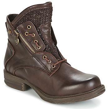 Sapatos Mulher Botas baixas Dockers by Gerli CORTA Castanho
