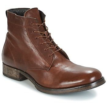 Sapatos Homem Botas baixas Moma CUSNA COPPER Castanho