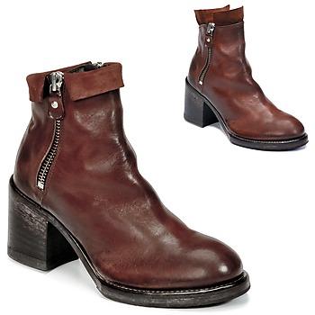 Sapatos Mulher Botins Moma CUSNA COPPER Castanho