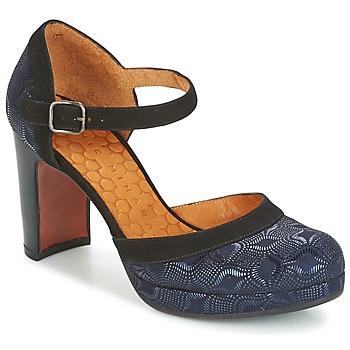 Sapatos Mulher Escarpim Chie Mihara TISA Azul / Metalizado