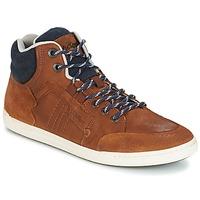 Sapatos Homem Sapatilhas de cano-alto Kickers CRAFFITI Camel