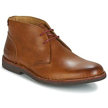Sapatos Homem Botas baixas Kickers MISTIC Camel