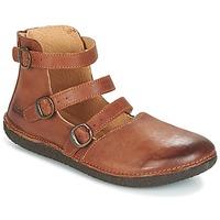 Sapatos Mulher Sabrinas Kickers HONORINE Camel