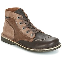 Sapatos Mulher Botas baixas Kickers LEGENDIKNEW Castanho / Escuro