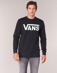 Textil Homem Sweats Vans VANS CLASSIC CREW Preto