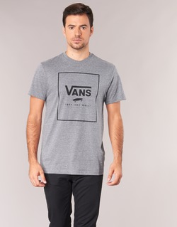 Textil Homem T-Shirt mangas curtas Vans PRINT BOX Cinza