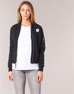 Textil Mulher Casacos/Blazers Converse CORE MA-1 BOMBER Preto