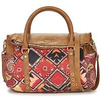 Malas Mulher Bolsa de mão Desigual BOLS_LOVERTY  BOHO Camel / Multicolor