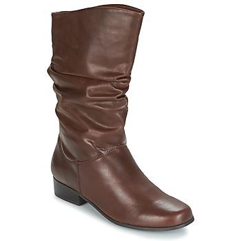 Sapatos Mulher Botas Spot on LAVAS Camel