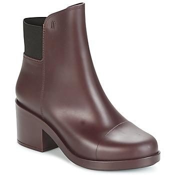 Sapatos Mulher Botins Melissa ELASTIC BOOTS Bordô