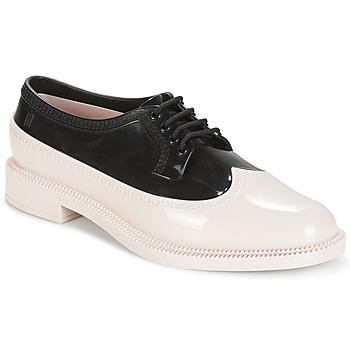 Sapatos Mulher Sapatos Melissa CLASSIC BROGUE AD. Rosa / Preto
