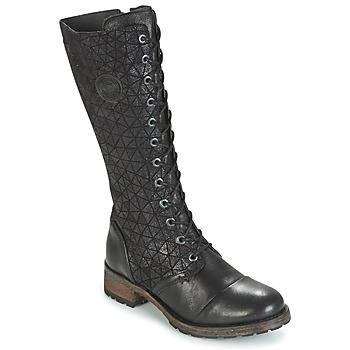 Sapatos Mulher Botas Pataugas DOLCE Preto
