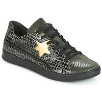 Sapatos Mulher Sapatilhas Pataugas JOIA Verde / Cinza