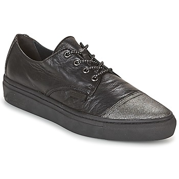 Sapatos Mulher Sapatilhas Pataugas YAK Preto / Prateado