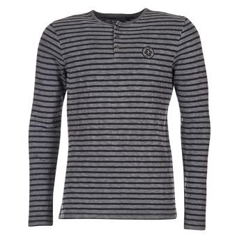 Textil Homem T-shirt mangas compridas Le Temps des Cerises ROGER Cinza