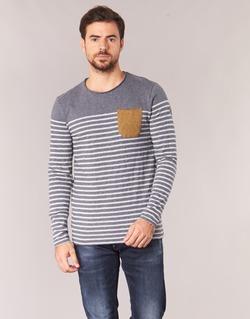 Textil Homem T-shirt mangas compridas Le Temps des Cerises VINCENT Cinza
