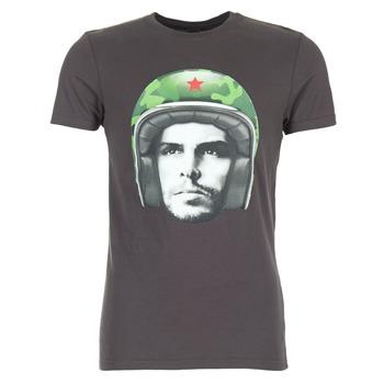 Textil Homem T-Shirt mangas curtas Le Temps des Cerises CUBA Cinza