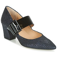Sapatos Mulher Escarpim Perlato JESSY Azul / Preto