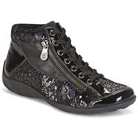 Sapatos Mulher Sapatilhas de cano-alto Remonte Dorndorf DORA Preto